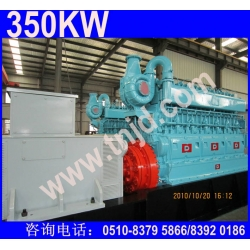 350KW生物质气发电机组