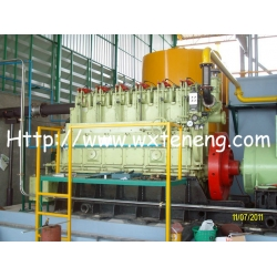200KW生物质气发电机组