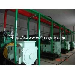 200KW煤气发电机组